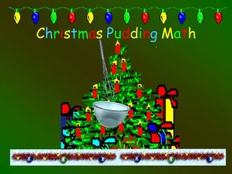 Christmas Pudding Math