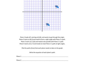 The Blue Darts Parallel and Perpendicular Problem