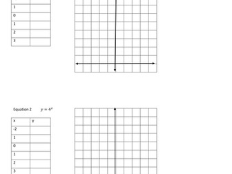 Learning Exponential Function graph