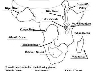Africa Geography Quiz