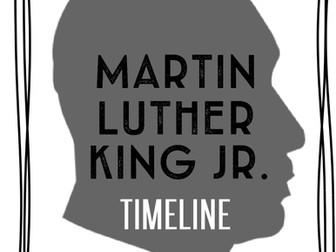 Dr. Martin Luther King, Jr. Passage & Timeline