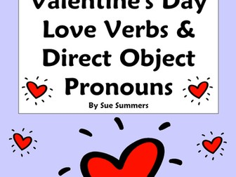 Spanish Direct Object Pronouns Worksheet with Oír, Ver, Querer, Conocer