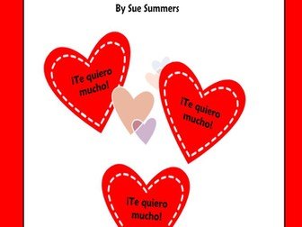 Spanish Valentine's Day SmartBoard Games & Activities