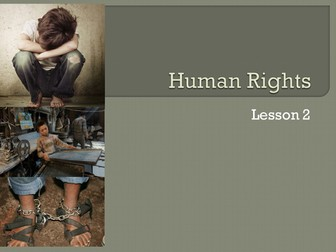 Year 7 Human Rights Unit of Work