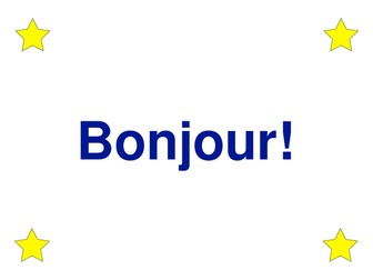"""easyMFL Year 3 French Unit 1 """"Introductions"""" SOL and Complete Resources"""