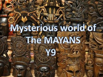 Mysterious world of The Mayans