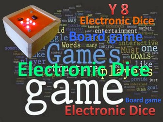 Electronic Dice & Board Game Project.