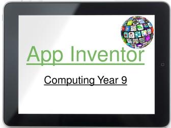 App Inventor lesson 3