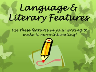 Language and Literary devices