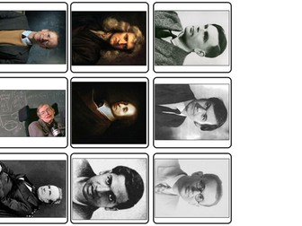 Top Mathematicians (History Math) match up cards