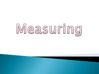 Measuring body parts