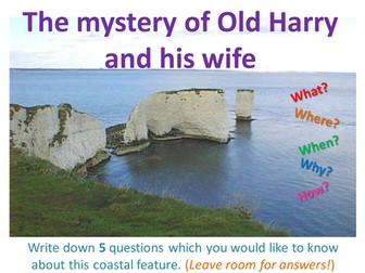 Coasts Lesson 3 - Old Harry