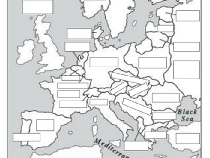 Maps To Show Europe Before And After World War 1