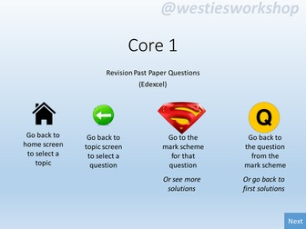 Core 1 (Edexcel) Revision