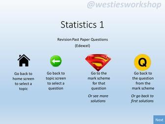 Statistics 1 (Edexcel) Revision