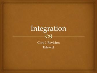 Core 1 Integration Revision Quiz
