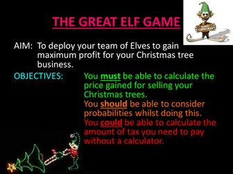 The Great Elf Game
