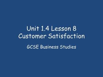Key Points of Customer satisfaction