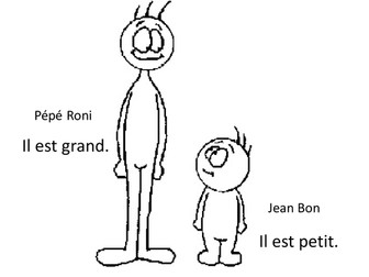 French adjectives for describing people