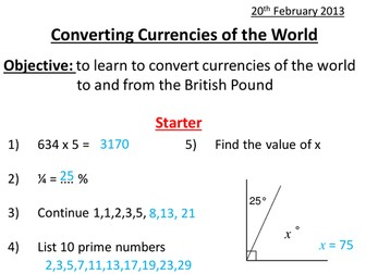 Currency Conversion Exchange - World Traveling