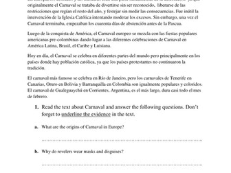 CARNIVAL/CARNAVAL: Accentuation rules in Spanish