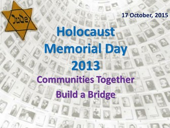 Holocaust Memorial Day Assembly and Tutor Time