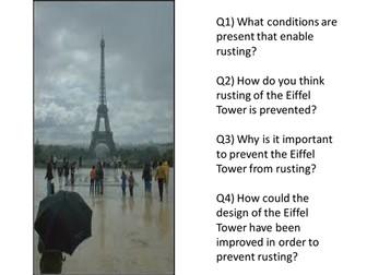 Eiffel Tower Rusting