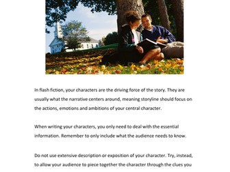 Flash Fiction - Characters
