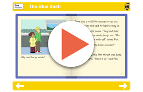 Book 11 The Blue Sash https://www.tes.com/teaching-resource/interactive/ninja-phonics/dist/cms/newbook/phonicsbooks/castle3/index.html