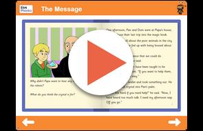 Book 15 The Message https://www.tes.com/teaching-resource/interactive/ninja-phonics/dist/cms/newbook/phonicsbooks/space3/index.html