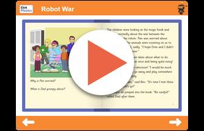 Book 16 Robot War https://www.tes.com/teaching-resource/interactive/ninja-phonics/dist/cms/newbook/phonicsbooks/space4/index.html