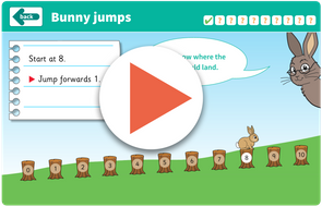 Bunny jumps game https://www.tes.com/teaching-resource/interactive/wolf-maths/topic1/bunnyjumps/index.html