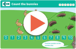 Counting bunnies game https://www.tes.com/teaching-resource/interactive/wolf-maths/topic1/countthebunnies/index.html