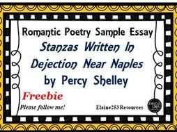stanzas written in dejection near naples structure