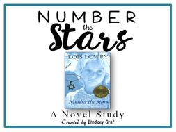 Number the Stars - Novel Study (Focus Skill: Context Clues)