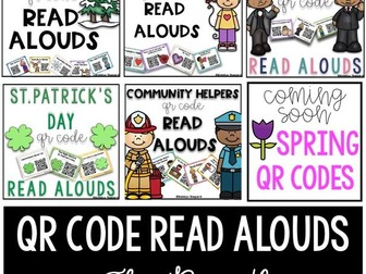 QR Code Read Aloud Bundle