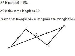 Gcse maths congruent triangles worksheet