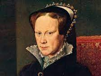 Mary I Poetry