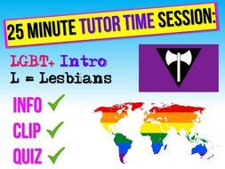LGBT+ Lesbians RSE