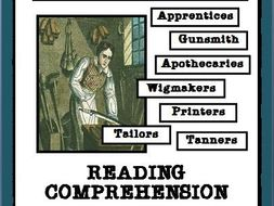 Colonial Craftsmen: Reading Passages and Comprehension Questions, Part 1