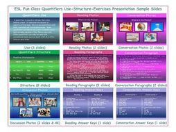 Quantifiers Use-Structure-Exercises Presentation