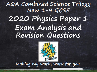 AQA Combined Science Trilogy Physics Paper 1 Revision and 2020 Exam Support