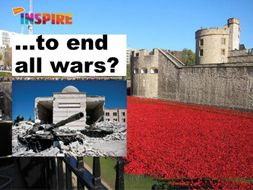 To end all wars- Remembrance 1918-2018