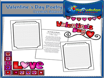 Valentine's Day Poetry Copywork