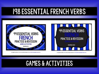 FRENCH VERBS PRACTICE & REVISION 198 VERBS