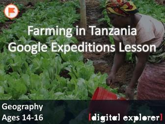 Farming in Tanzania #GoogleExpeditions Lesson