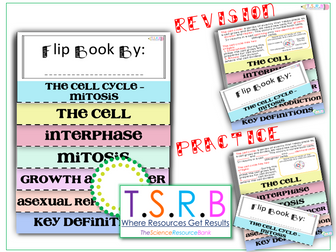 Mitosis Flip Book - Revision and Task Version (AS Edexcel Biology B)