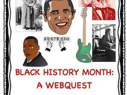 Black History Month: A Webquest!