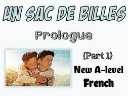 Un Sac De Billes Etude Du Prologue Free