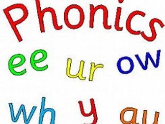 Phonics certificates